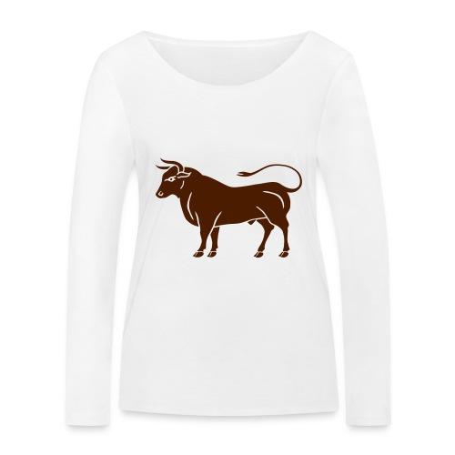 Année du boeuf - T-shirt manches longues bio Stanley & Stella Femme