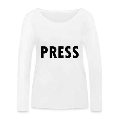 press - Frauen Bio-Langarmshirt von Stanley & Stella