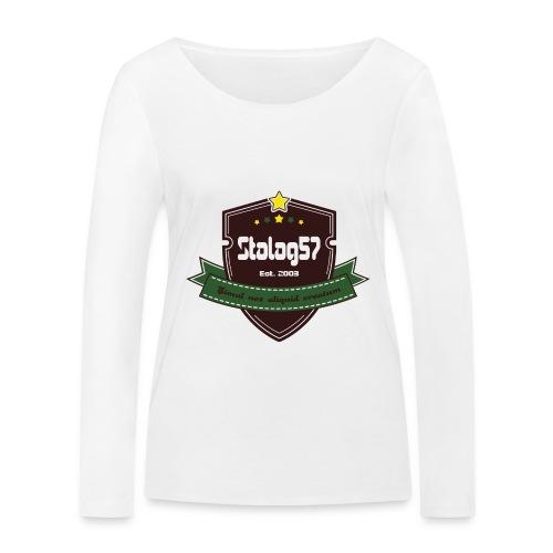 logo - T-shirt manches longues bio Stanley & Stella Femme