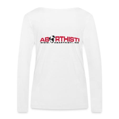 abarthlogored - Økologisk langermet T-skjorte for kvinner fra Stanley & Stella