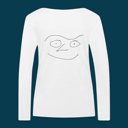 Chabisface Fast Happy - Frauen Bio-Langarmshirt von Stanley & Stella