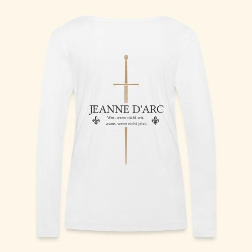 Jeanne d arc dark - Frauen Bio-Langarmshirt von Stanley & Stella