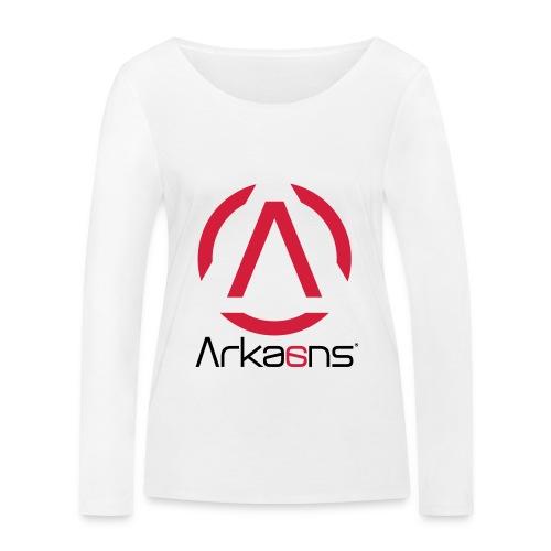 Arkaans Global - T-shirt manches longues bio Stanley & Stella Femme