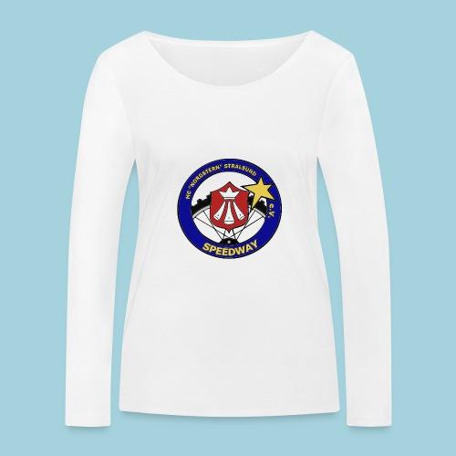 MCN Logo beidseitig - Frauen Bio-Langarmshirt von Stanley & Stella