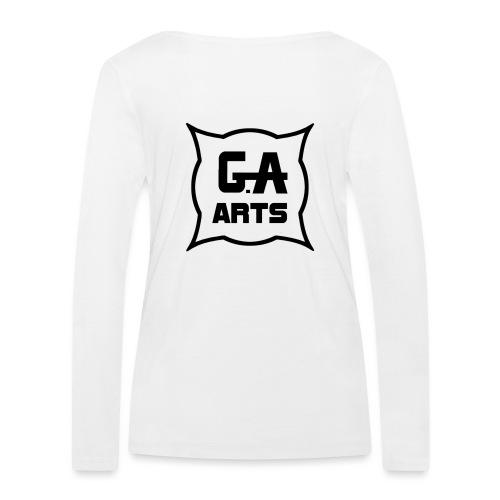 G.A.Arts - T-shirt manches longues bio Stanley & Stella Femme