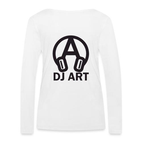 DJ Art (lichte pull-kleuren) - Vrouwen bio shirt met lange mouwen van Stanley & Stella