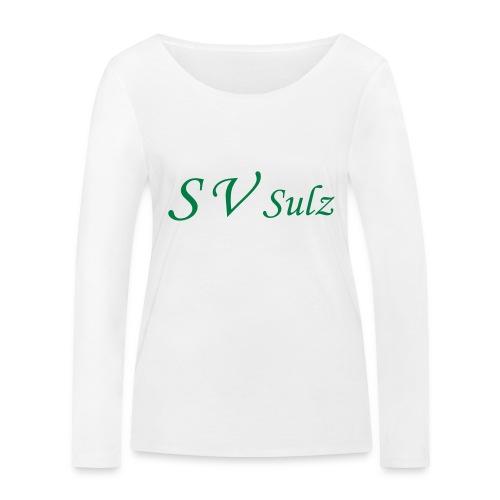 svs schrift 2 - Frauen Bio-Langarmshirt von Stanley & Stella