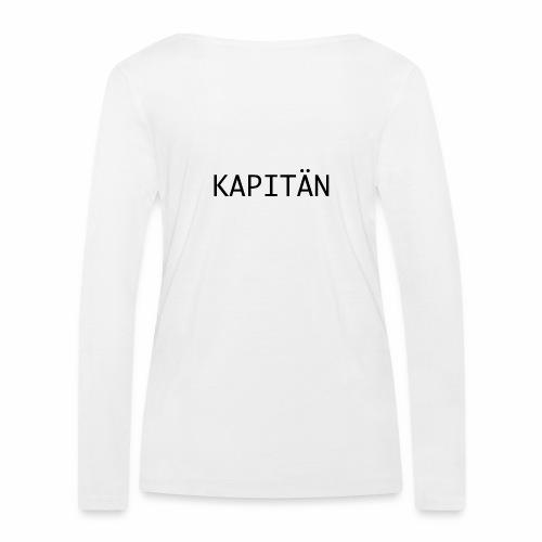 Kapitän - Frauen Bio-Langarmshirt von Stanley & Stella