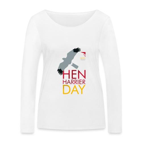Hen Harrier Day T-Shirt - Women's Organic Longsleeve Shirt by Stanley & Stella