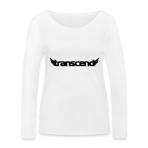Transcend Bella Tank Top - Women's - White Print - Women's Organic Longsleeve Shirt by Stanley & Stella