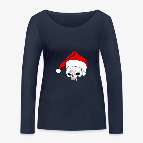 pnlogo joulu - Women's Organic Longsleeve Shirt by Stanley & Stella