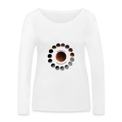 Mondfinsternis 2015 - Frauen Bio-Langarmshirt von Stanley & Stella
