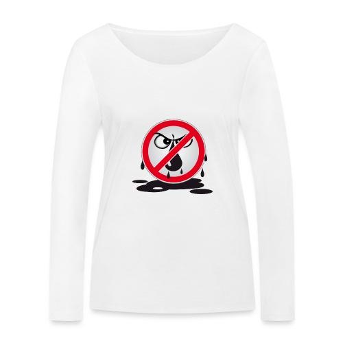 Erdöl - Nein danke! - Frauen Bio-Langarmshirt von Stanley & Stella