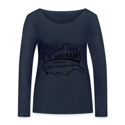 Laufvagabunden T Shirt - Frauen Bio-Langarmshirt von Stanley & Stella