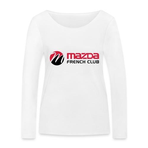 mazda french club - T-shirt manches longues bio Stanley & Stella Femme