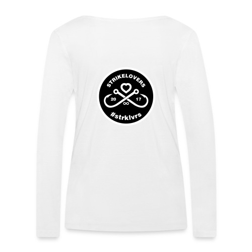 StrikeLovers Circle Vector - Frauen Bio-Langarmshirt von Stanley & Stella