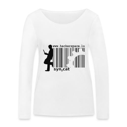 syn2cat hackerspace - Women's Organic Longsleeve Shirt by Stanley & Stella