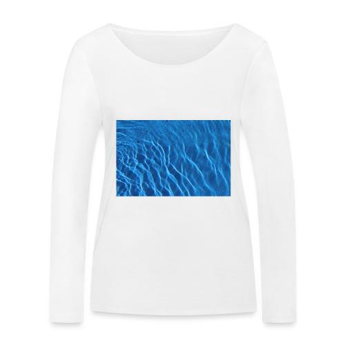 Water t shirt - Økologisk langermet T-skjorte for kvinner fra Stanley & Stella