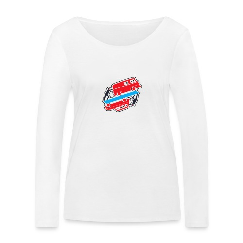 Logo vehicules-anciens.fr - T-shirt manches longues bio Stanley & Stella Femme