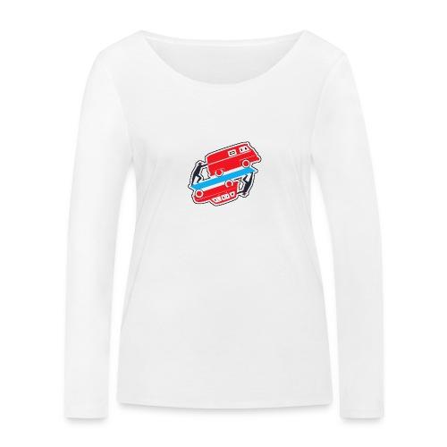 Logo vehicules-anciens.fr - T-shirt manches longues bio Stanley & Stella Femme