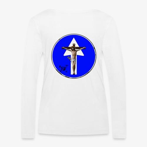 Gesù - Maglietta a manica lunga ecologica da donna di Stanley & Stella