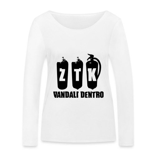 ZTK Vandali Dentro Morphing 1 - Women's Organic Longsleeve Shirt by Stanley & Stella
