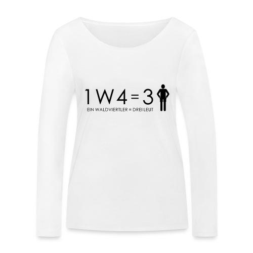1W4 3L - Frauen Bio-Langarmshirt von Stanley & Stella