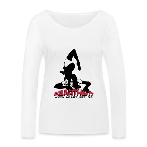 Abarthisti Pinup - Økologisk langermet T-skjorte for kvinner fra Stanley & Stella