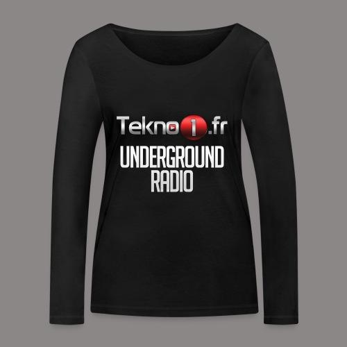 logo tekno1 2000x2000 - T-shirt manches longues bio Stanley & Stella Femme
