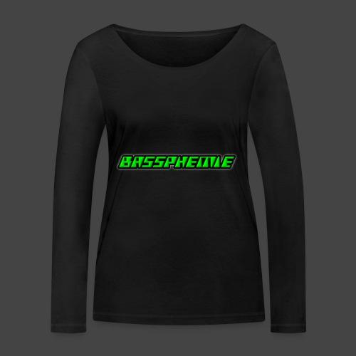 Bassphemie - Neongrün - Frauen Bio-Langarmshirt von Stanley & Stella