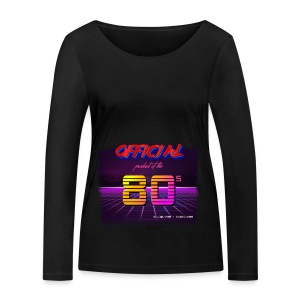 Official product of the 80's clothing - Women's Organic Longsleeve Shirt by Stanley & Stella
