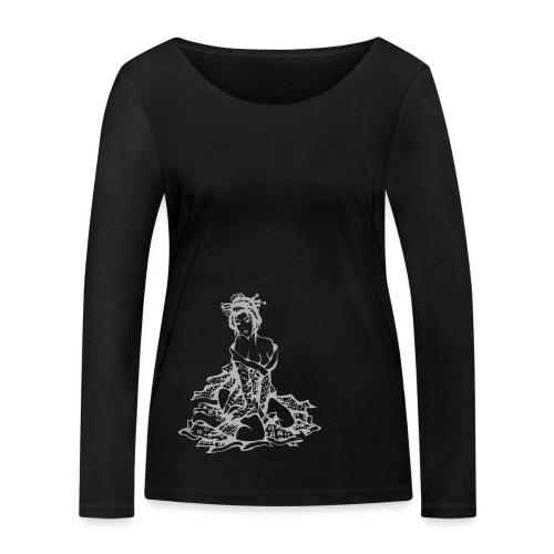 Geisha (grey) - Frauen Bio-Langarmshirt von Stanley & Stella