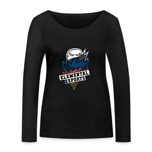 Elemental eSports   2018 Logo - Økologisk Stanley & Stella langærmet T-shirt til damer