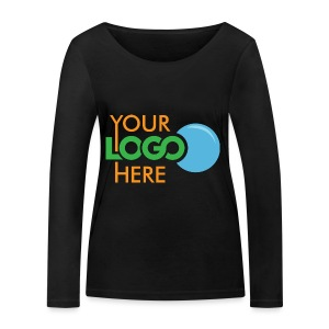 Your Logo Here - Women's Organic Longsleeve Shirt by Stanley & Stella