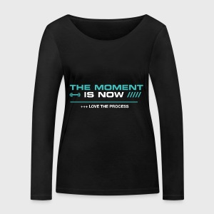 THE MOMENT IS NOW - Camiseta de manga larga ecológica mujer de Stanley & Stella