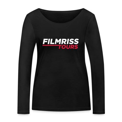 FILMRISS TOURS – lustiges Shirt für Partys, JGA - Frauen Bio-Langarmshirt von Stanley & Stella
