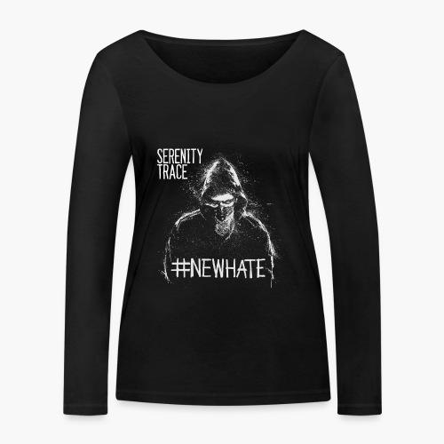 #NewHate Male - Økologisk langermet T-skjorte for kvinner fra Stanley & Stella