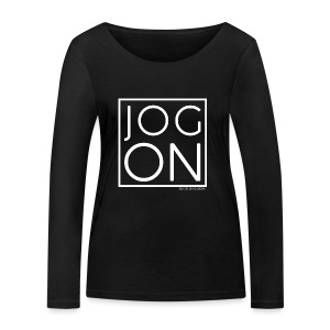 JOG ON - Women's Organic Longsleeve Shirt by Stanley & Stella