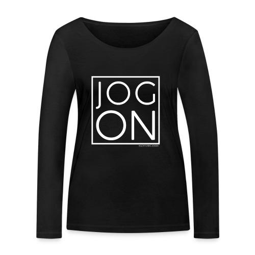 JOG ON - Women's Organic Longsleeve Shirt by Stanley & Stella