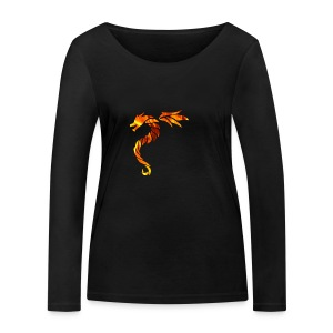 dragon fire 2 - T-shirt manches longues bio Stanley & Stella Femme