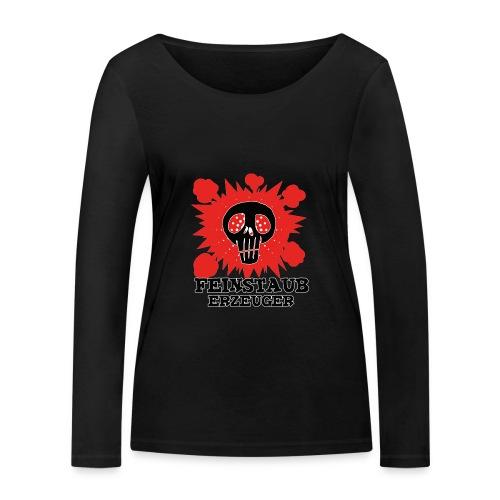 Feinstaub Erzeuger - Frauen Bio-Langarmshirt von Stanley & Stella