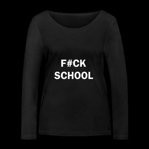School Collection - Økologisk langermet T-skjorte for kvinner fra Stanley & Stella