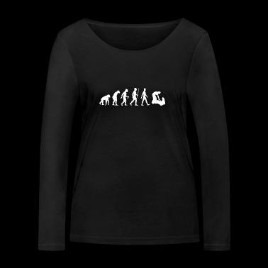 Pracownicy socjalni Evolution FSJ zawody społeczne - Ekologiczna koszulka damska z długim rękawem Stanley & Stella