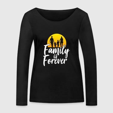 La famille est toujours idée cadeau de la famille - T-shirt manches longues bio Stanley & Stella Femme