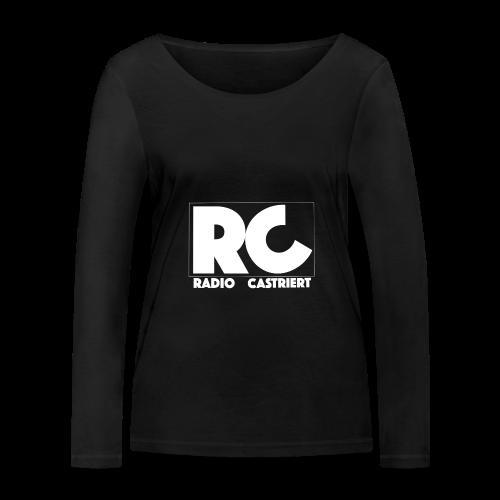 Radio CASTriert Logo 2017/2018 - Frauen Bio-Langarmshirt von Stanley & Stella