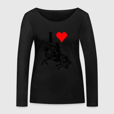 Medieval Fan - Ekologiczna koszulka damska z długim rękawem Stanley & Stella