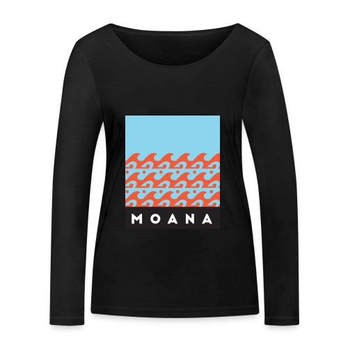 Blue Moana - Spirit of the Sea by Te-Moana - Frauen Bio-Langarmshirt von Stanley & Stella