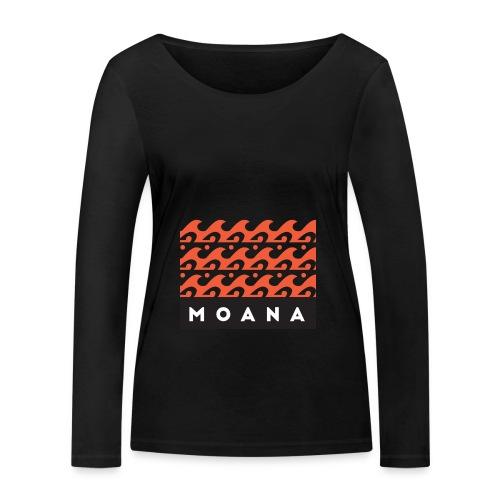 Moana means Spirit of the Ocean by Te-Moana - Frauen Bio-Langarmshirt von Stanley & Stella