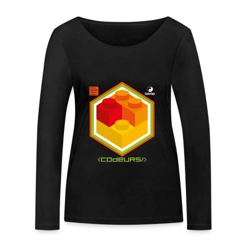 Esprit Brickodeurs - T-shirt manches longues bio Stanley & Stella Femme
