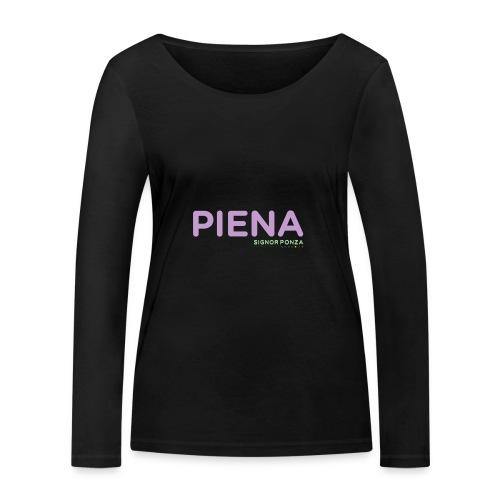 PIENA - Maglietta a manica lunga ecologica da donna di Stanley & Stella
